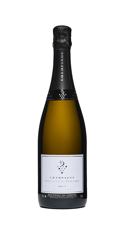 Champagne COTTANCEAU-PRIGNITZ BRUT Blanche, 100% Chardonnay Blanc de Blancs
