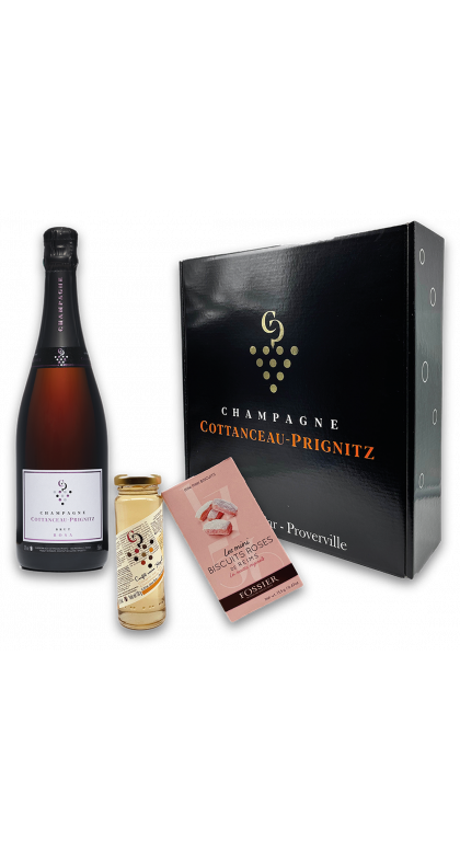 Champagne COTTANCEAU-PRIGNITZ coffret gourmand